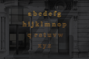 Print on Demand: Fakedes Serif Font By Creative Fabrica Freebies 6