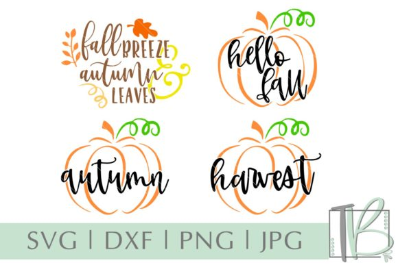 Fall Autumn Bundle Graphic Crafts By tamarabotriedesigns