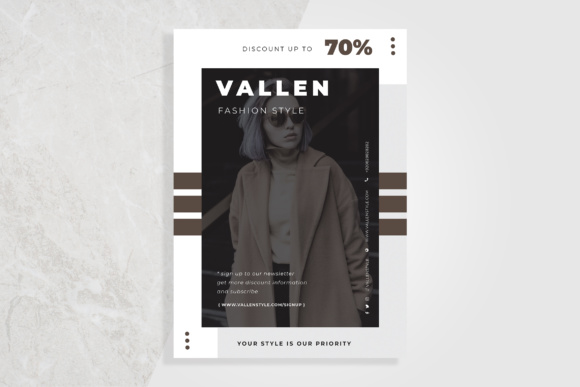 Fashion Flyer Graphic Print Templates By TMint