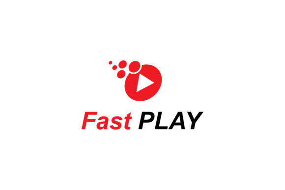 Print on Demand: Fast Play Logo Design Graphic Logos By sabavector