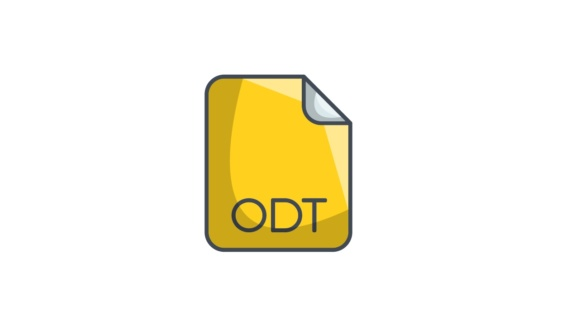 how to read odt files