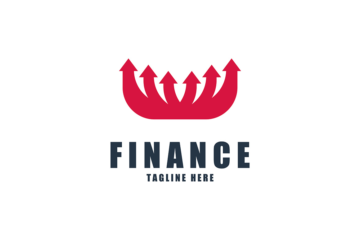 Download Free Finance Logo Graphic By Thehero Creative Fabrica for Cricut Explore, Silhouette and other cutting machines.
