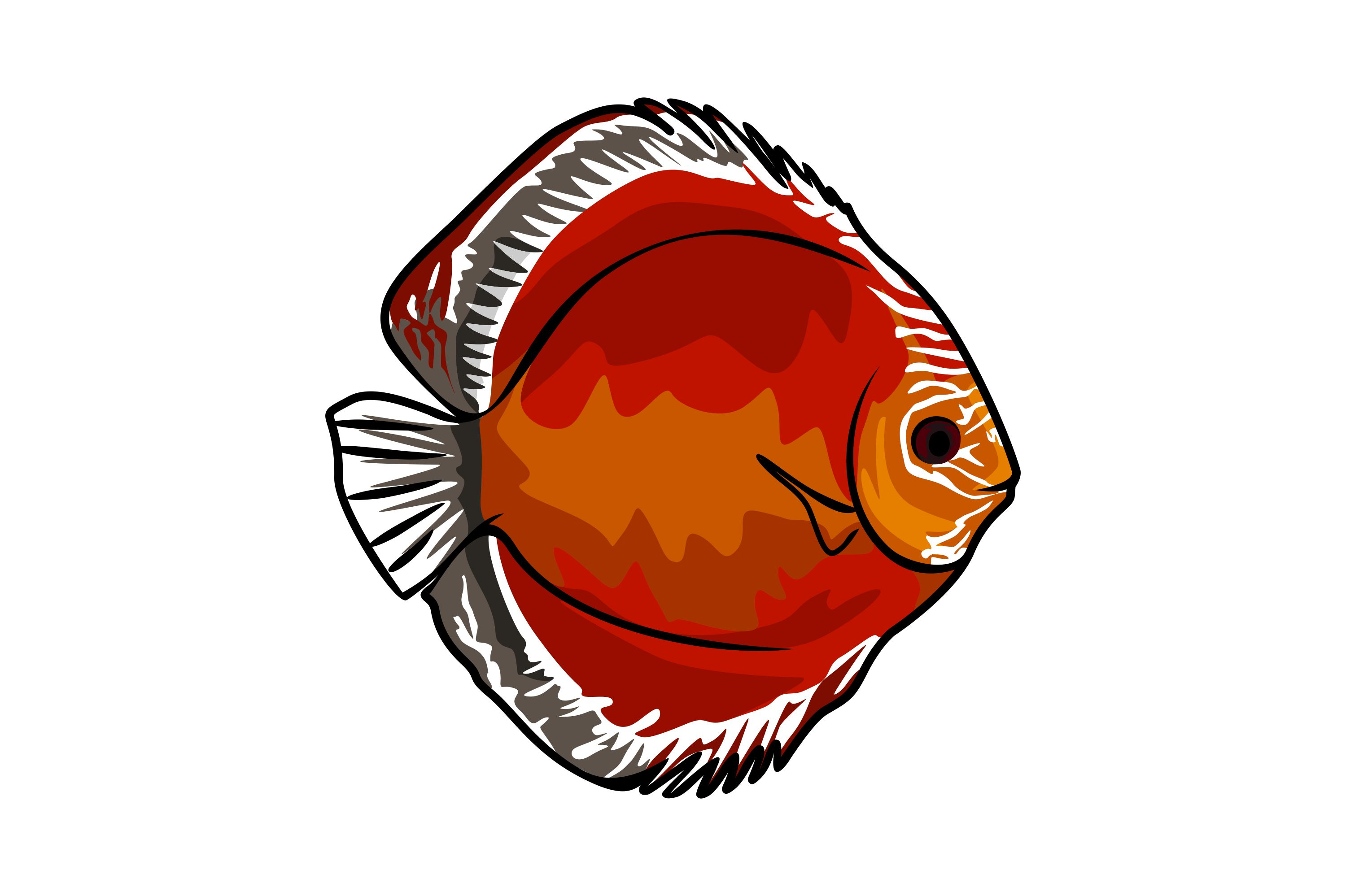 Download Free Fish Illustrations Graphic By Graphicrun123 Creative Fabrica SVG Cut Files