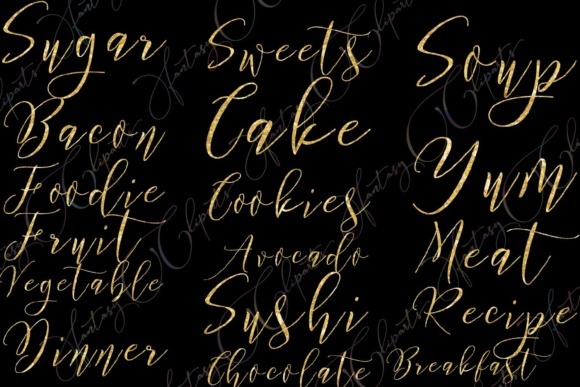 Food Word Art Graphic By fantasycliparts Image 2