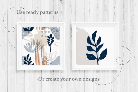 Print on Demand: Forest Herbs Big Graphic Set Graphic Illustrations By Red Ink - Image 4