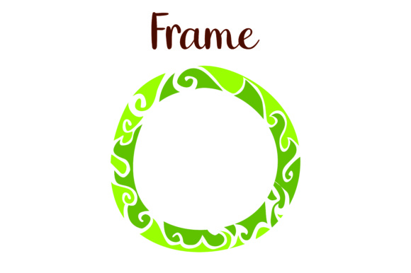 Print on Demand: Frame Ornamen T Graphic Illustrations By Arief Sapta Adjie