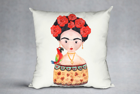 Frida Kahlo Clipart Mexican Clipart Graphic Illustrations By vivastarkids - Image 5