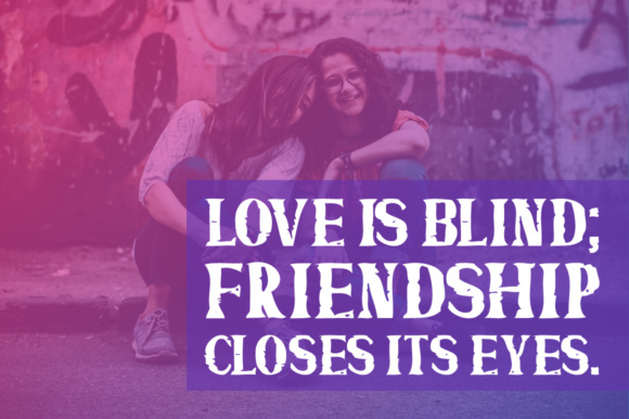 Print on Demand: Friends Forever Display Font By Shattered Notion - Image 4