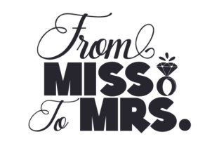 From Miss to Mrs Craft Design By Creative Fabrica Crafts