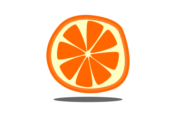 Print on Demand: Fruit Orange Vector Graphic Illustrations By Arief Sapta Adjie