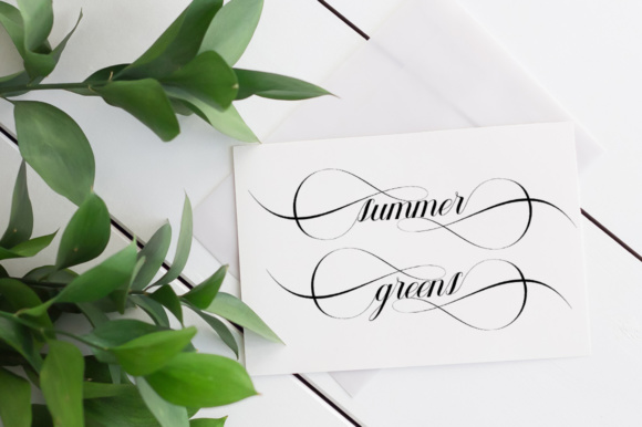 Print on Demand: Geshane Script & Handwritten Font By sapre.studio - Image 4