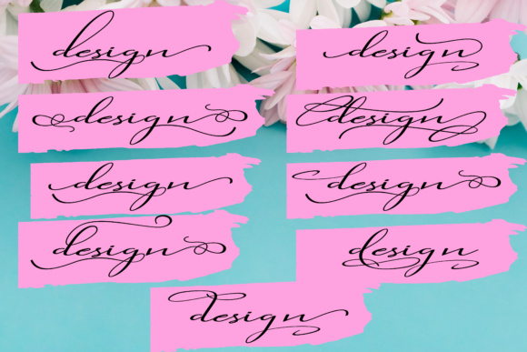 Print on Demand: Gladiolus Script & Handwritten Font By siwah.wah52 - Image 5