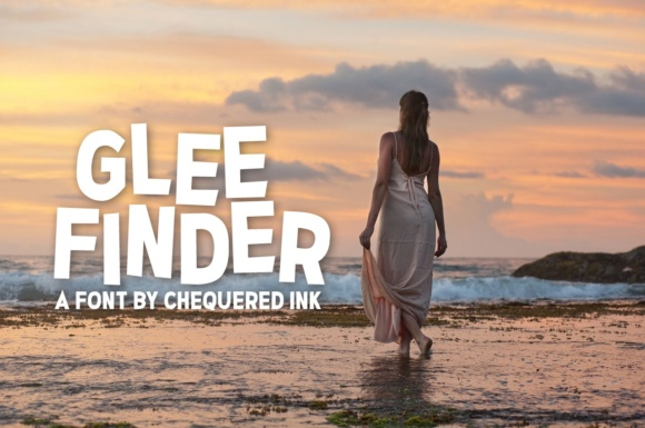 Print on Demand: Glee Finder Sans Serif Font By Chequered Ink