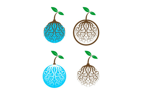 Download Free Leaf Vector Logo Graphic By Hartgraphic Creative Fabrica for Cricut Explore, Silhouette and other cutting machines.