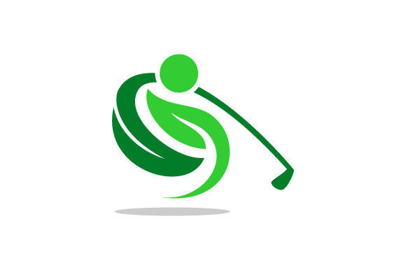 Download Free Golf Leaf People Vector Logo Graphic By Hartgraphic Creative for Cricut Explore, Silhouette and other cutting machines.