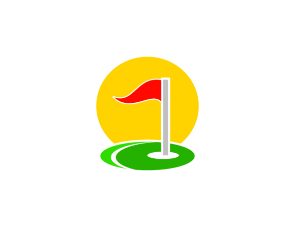 Download Free Golf Sport Course Field Community Logo Graphic By Meisuseno for Cricut Explore, Silhouette and other cutting machines.