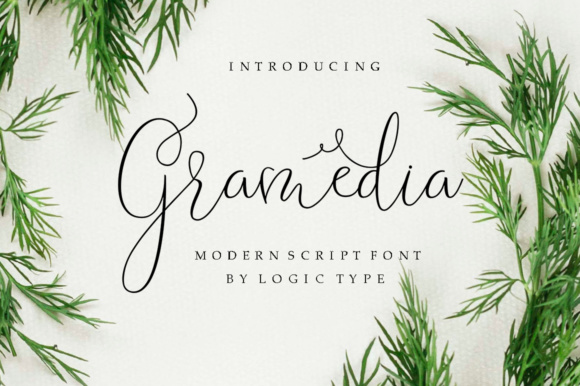 Print on Demand: Gramedia Script & Handwritten Font By IM Studio - Image 1