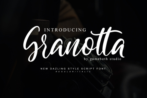Granotta Script Font By gameboth.studio Image 1
