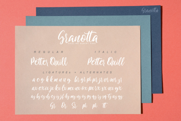 Granotta Script Font By gameboth.studio Image 9