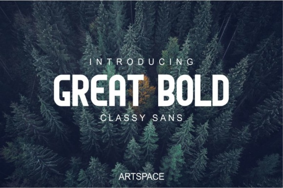 Print on Demand: Great Bold Sans Serif Font By MJB Letters