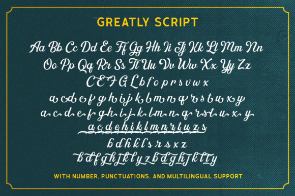 Greatly Font By letterhend Image 10