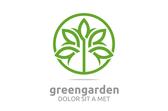 Green Leaf Garden Graphic