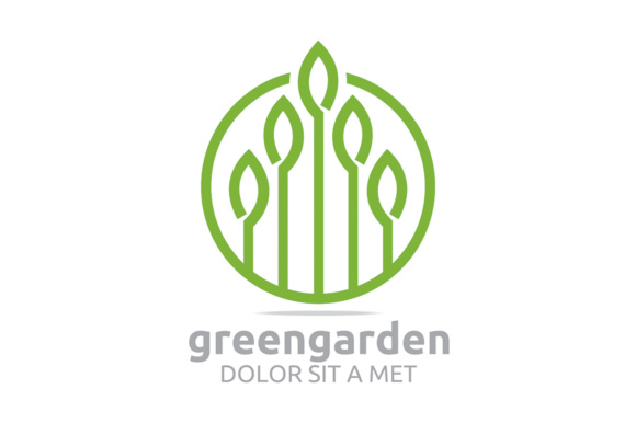 Green Leaf Garden Graphic By Acongraphic