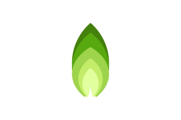 Download Free Green Nature Leaf Logo Grafico Por Yahyaanasatokillah Creative for Cricut Explore, Silhouette and other cutting machines.