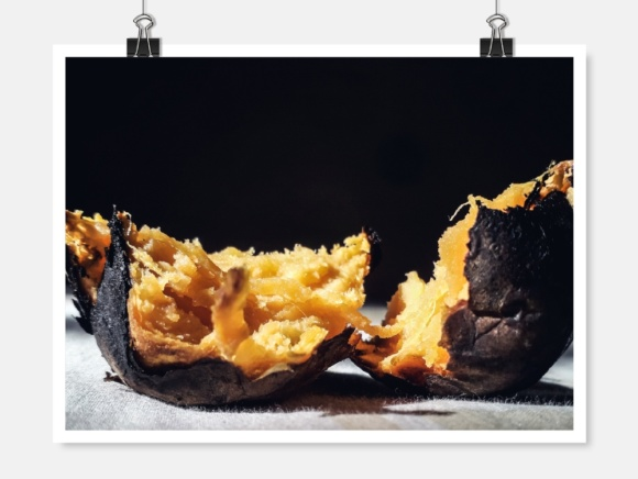 Grilled Sweet Potato Photo Graphic Food & Drinks By widyaav