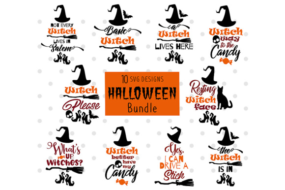Halloween Bundle Graphic Crafts By danieladoychinovashop