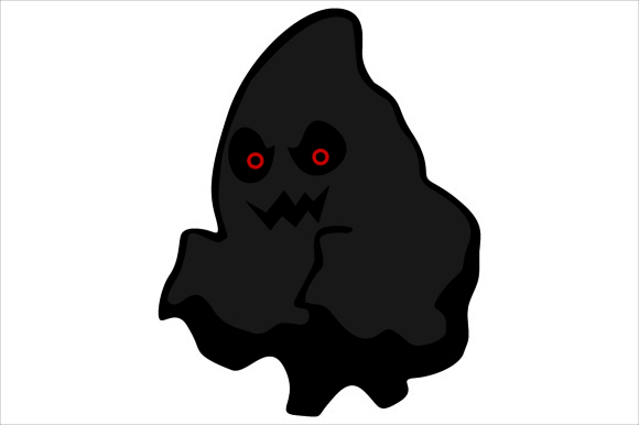 Download Free Halloween Ghost Graphic By Arief Sapta Adjie Creative Fabrica for Cricut Explore, Silhouette and other cutting machines.