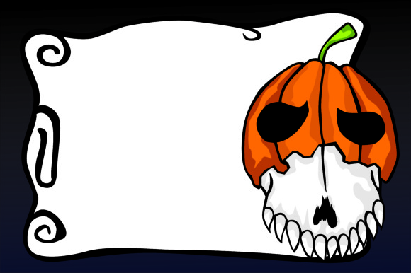 Print on Demand: Halloween Pumpkin Background Graphic Backgrounds By Arief Sapta Adjie