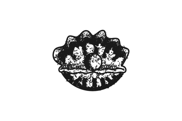 Download Free Hand Drawn Shellfish Oysters Seafood Logo Graphic By for Cricut Explore, Silhouette and other cutting machines.