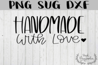 Download Free Handmade With Love Svg Grafico Por Oakandmagnolia Creative Fabrica for Cricut Explore, Silhouette and other cutting machines.