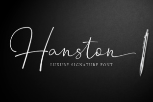 Print on Demand: Hanston Script & Handwritten Font By Weape Design