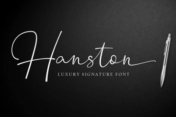 Hanston Font By Weape Design Image 1