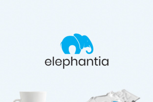 Happy Elephant Logo Template Graphic By Design A Lot