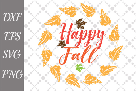 Happy Fall Graphic Crafts By prettydesignstudio