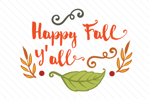 Download Free Happy Fall Y All Svg Cut File By Creative Fabrica Crafts for Cricut Explore, Silhouette and other cutting machines.
