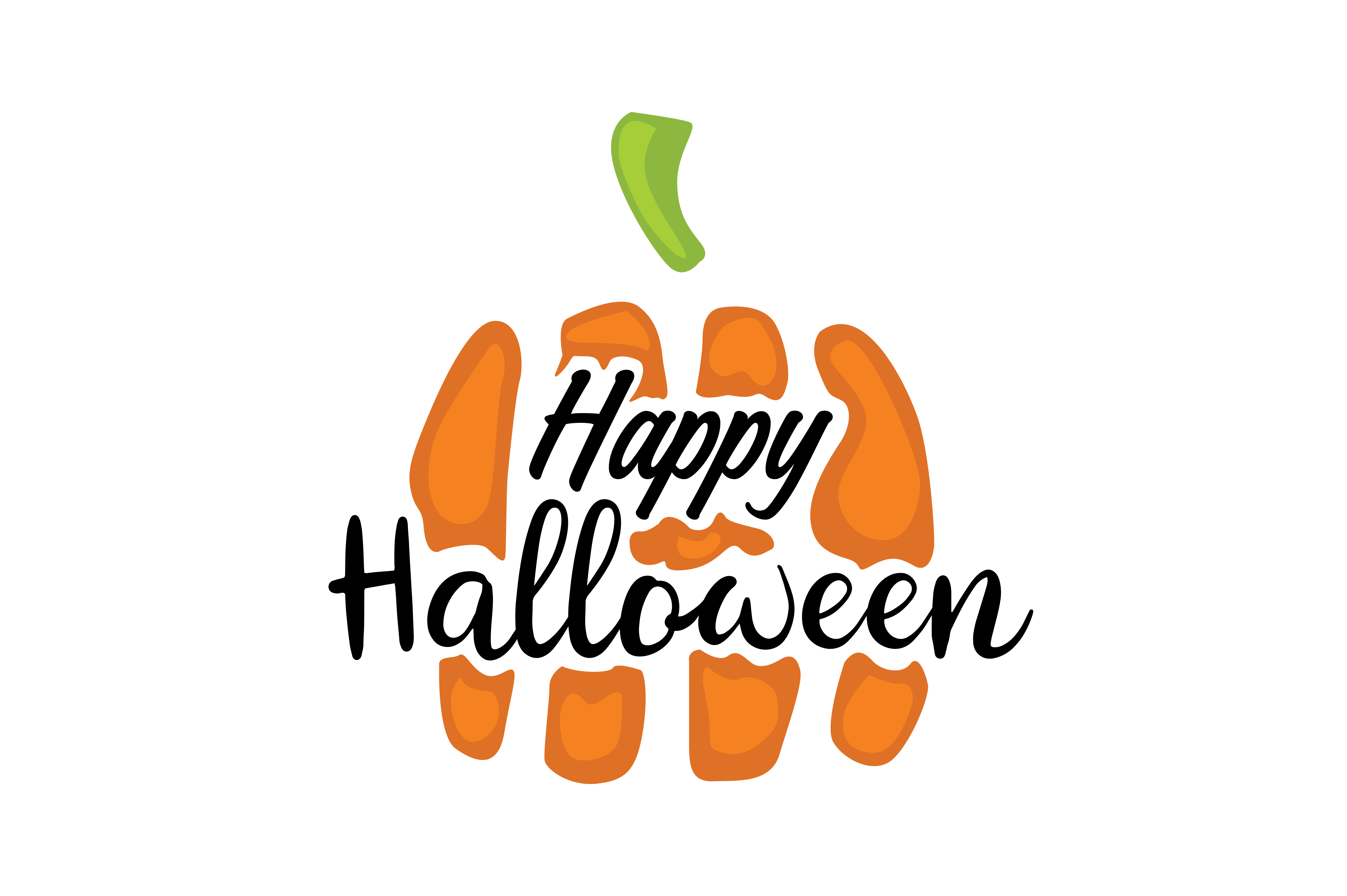 Download Free Happy Halloween Graphic By Thelucky Creative Fabrica for Cricut Explore, Silhouette and other cutting machines.