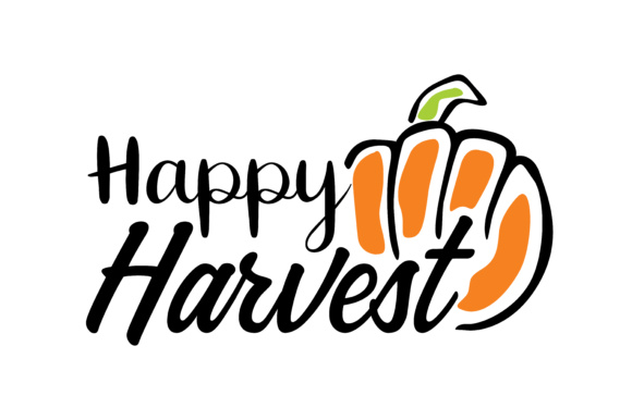 Print on Demand: Happy Harvest Graphic Crafts By TheLucky
