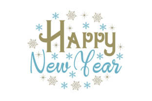 Happy New Year Craft Design By Creative Fabrica Crafts