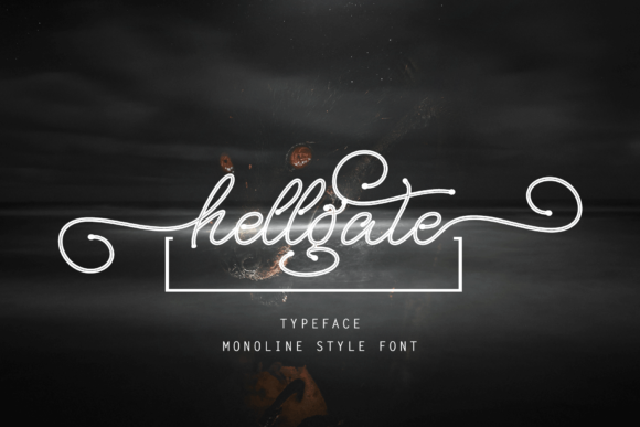 Print on Demand: Hellgate Script & Handwritten Font By Ageless Type