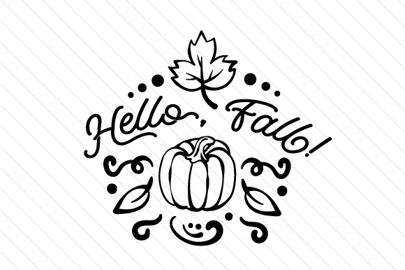 Download Free Hello Fall Svg Cut File By Creative Fabrica Crafts Creative for Cricut Explore, Silhouette and other cutting machines.