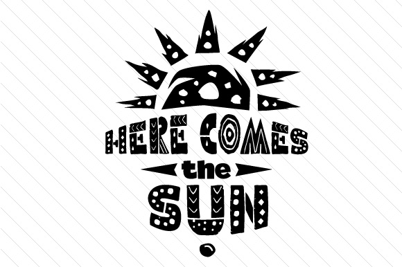 Here Comes the Sun Summer Craft Cut File By Creative Fabrica Crafts - Image 2