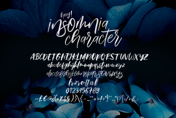 Print on Demand: Hey Insomnia Color Fonts Font By Dhan Studio - Image 6