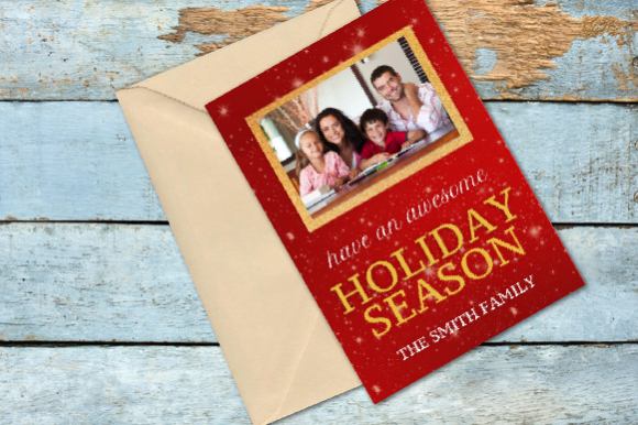 Holiday Season Card Template Graphic Graphic Templates By Inspire Graphics - Image 2
