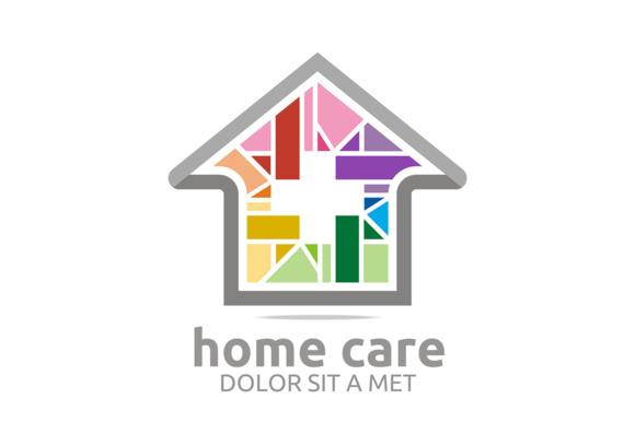 Home Care Graphic Logos By Acongraphic