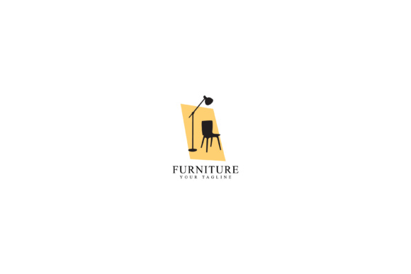 Print on Demand: Home Furniture Logo Design Graphic Logos By sabavector