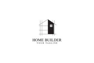 Download Free Home Renovation Logo Design Grafico Por Sabavector Creative for Cricut Explore, Silhouette and other cutting machines.